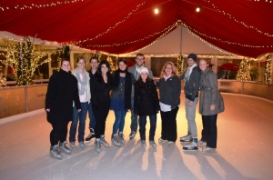 Marketing Department on Ice