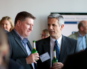 Everybody enjoyed the pleasant company and good networking opportunities.
