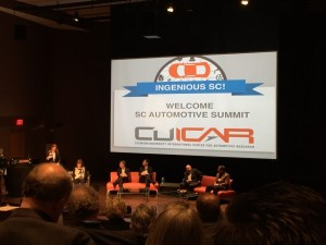 The first industry panel discussion on innovation at CU-ICAR